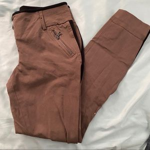 Express Utlity Straight Jeans Size 6 Army Green